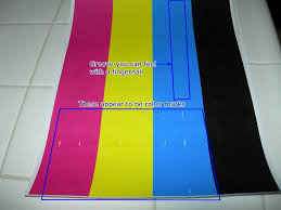 dell 3100cn color laser streaks middle of page printers forum