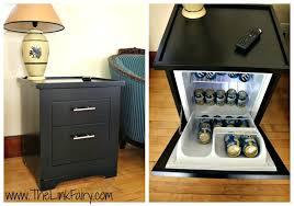 mini fridge side table refrigerators compact end refrigerator