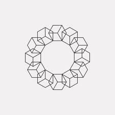 ju17 954 a new geometric design every day simple pinterest
