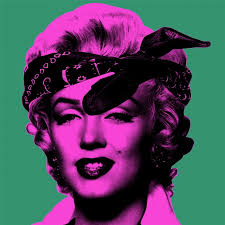 Marilyn Monroe Art Knowledge Bennett Marilyn Monroe Green Available For Sale