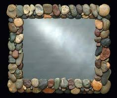 Cabin Bathroom Mirrors by Rock Mirror For My Home 2 Pinterest Seeds Stone And Rock