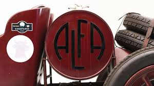 vintage alfa romeo logo first ever alfa romeo model is heading to auction