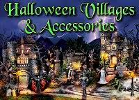 halloween trains and towns