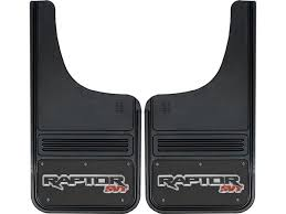 Ford Raptor Truck Bed Accessories - 2010 2016 ford raptor svt logo gatorback mud flap set