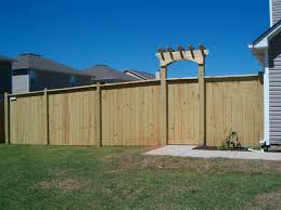 Privacy Ideas For Backyard by Privacy Fence Styles Design And Ideas Of House
