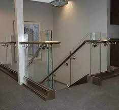 glass railing company stairs deck balcony interior home haammss