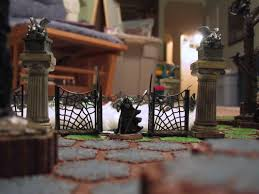 Lemax Halloween Houses by Droid Factory Customs Halloween Heroscape