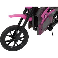 electric motocross bikes pulse performance em 1000 electric dirt bike pink walmart com