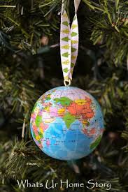 globe ornament whats ur home story