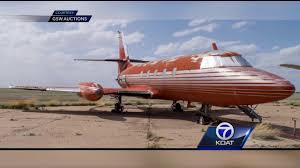 elvis plane elvis presley s private plane for auction youtube