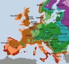 Zone Gardening - hardiness zone map for scandinavia and baltics garden