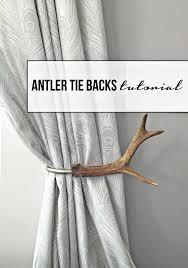 Diy Curtain Tiebacks Collection In Tie Back Curtains And 64 Diy Curtain Tie Backs Guide