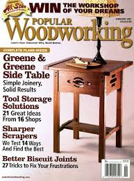 Woodworking Magazine Reviews by Popular Woodworking Print Kindle Amazon Com Magazines
