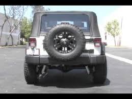 jeep wrangler performance exhaust 2007 2011 jeep wrangler jk performance exhaust comp series 16393