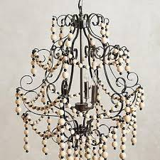 Maurice Chandelier Arteriors Home Ivory Maurice 8 Light Iron And Wood Chandelier