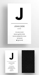 the initial business card template business cards pinterest