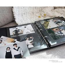 photo album pages for 3 ring binder ring binder albums self adhesive photo album book scrapbooking
