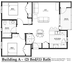2 Bedroom Plan by Building A 2 Bedroom The Flats At Terre View