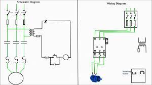 three phase motor starter wiring diagram gooddy org