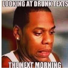 drunk text messages home facebook