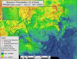 Arizona Temperature Map beaver creek site climatology