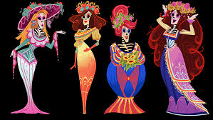 la catrina of day of the dead designs on behance