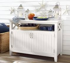 hampstead painted buffet white pottery barn