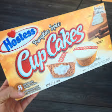 hostess pumpkin spice cupcakes target food pinterest
