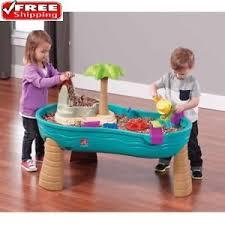 step2 wheels table water table splish splash seas step2 outdoor play new kids umbrella