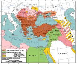 Ottoman Empire Borders The Ottoman Empire In 1481 Mapsof Net