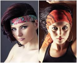 how to wear a bandana with short hair cute and simple bandana hairstyles for short hair