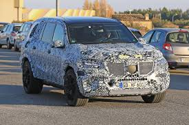 mercedes jeep 2016 new 2019 mercedes gls seven seat suv spied auto express