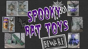 6 diy halloween themed rat toys youtube