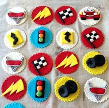 cars cake toppers disney cars cake topper car cupcake toppers on fondant images nz