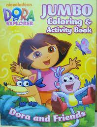 amazon dora explorer jumbo coloring activity book