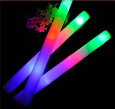 christmas sticks with lights led foam stick light up sticks halloween flashing led flash multi