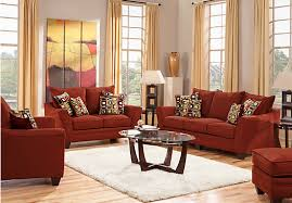 red living room set shop for a santa monica red 7pc classic living room at rooms to go