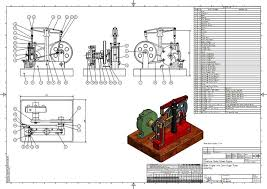 d i y mini steam engine with horizontal beam and centrifugal
