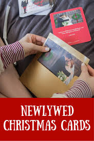 Newly Wed Christmas Card Newlywed Christmas Cards Ft Tiny Prints Lments Of Style