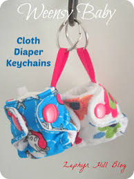 Baby Keychains Weensy Baby Cloth Diaper Keychains And A Giveaway Zephyr Hill