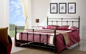 furniture wrought iron bed frame metal double bed iron double