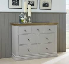 White Oak Bedroom Chest Of Drawers Corndell Annecy Bedroom Furniture At Relax Sofas And Beds