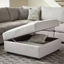 Noble House Chelsea Storage Ottoman Shop Living Room Furniture At Lowes Com