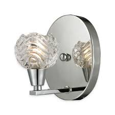 Chrome Vanity Light Fixture Buy Polished Chrome Vanity Lighting From Bed Bath U0026 Beyond