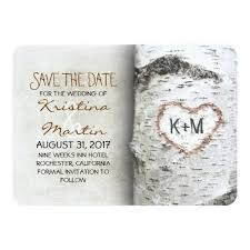 rustic save the date cards tree rustic save the date cards invitation card