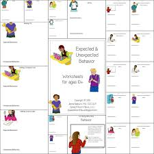 expected u0026 unexpected behavior worksheets speech room news