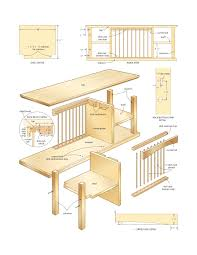 Woodworking Plans Desk Organizer by Diy Mission Woodworking Plans Free Arafen