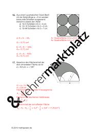 kreisberechnung fläche kreis flächeninhalt mathematik