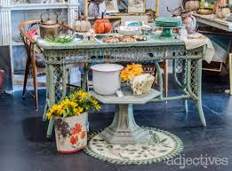 farm tables fall decor vintage doors and more at adjectives market