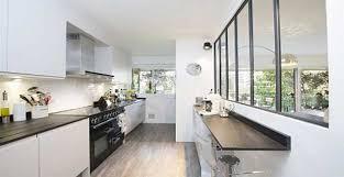 idee cuisine en l pittoresque amenager une cuisine en longueur id es salle familiale